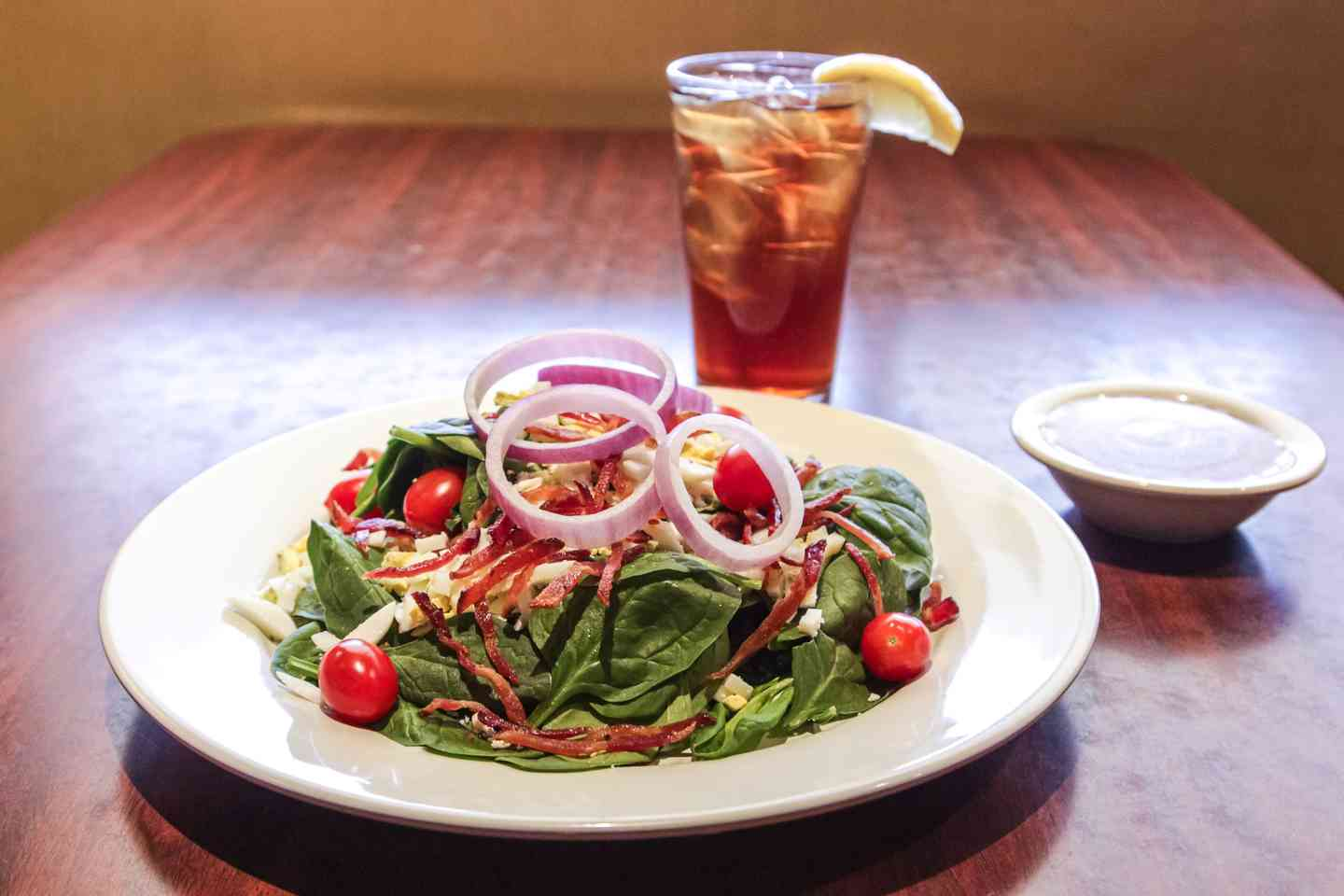 Fresh Spinach Salad*