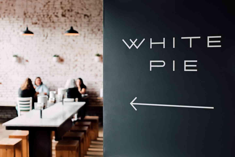 white pie interior