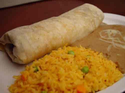 28. Burrito Combo