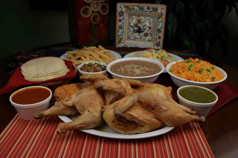 Pollo Asado Meal
