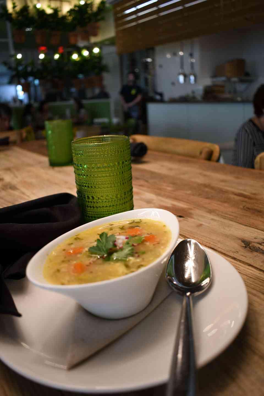 Egg & Lemon Soup