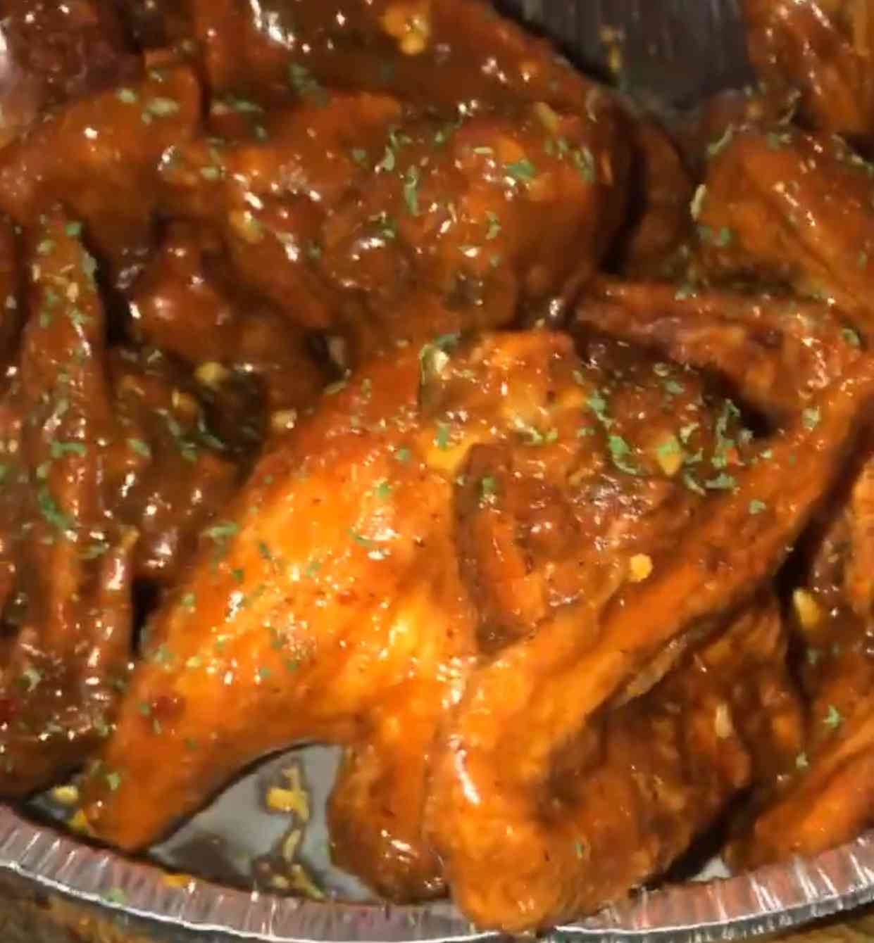 Bar B Q Chicken Wings