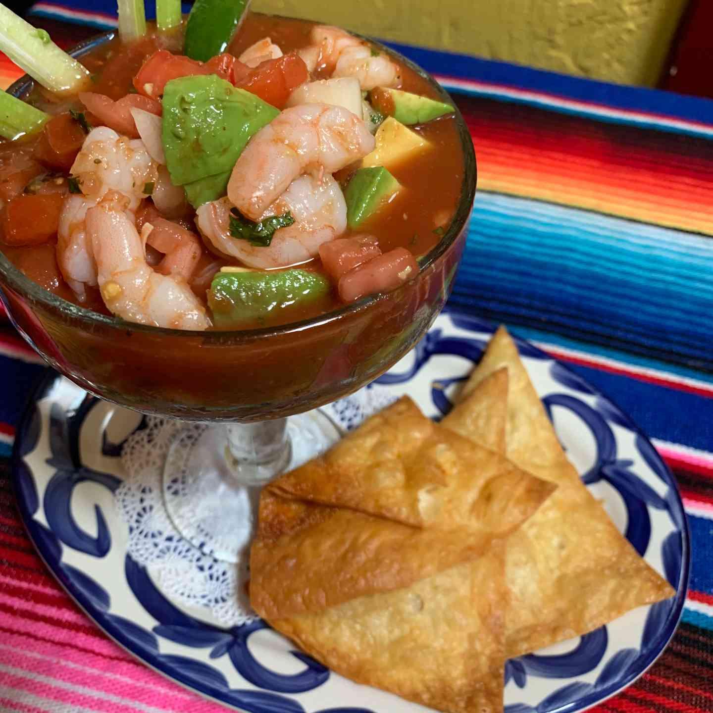 Shrimp Cocktail Lito
