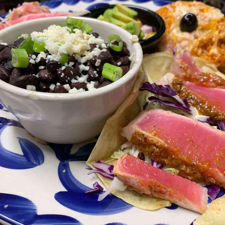 Seared Ahi Tacos