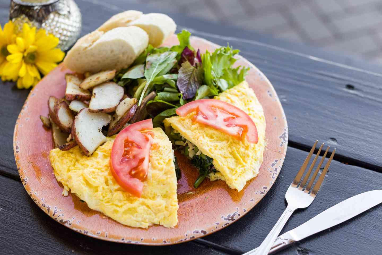 The Veggie Omelette