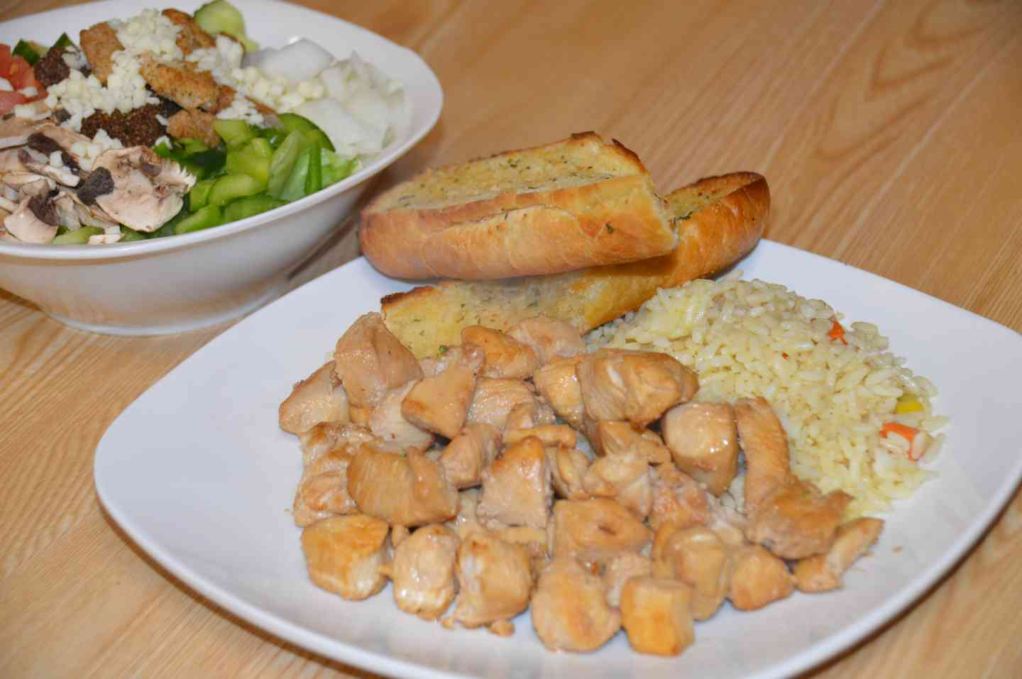 Chicken Tip with Rice