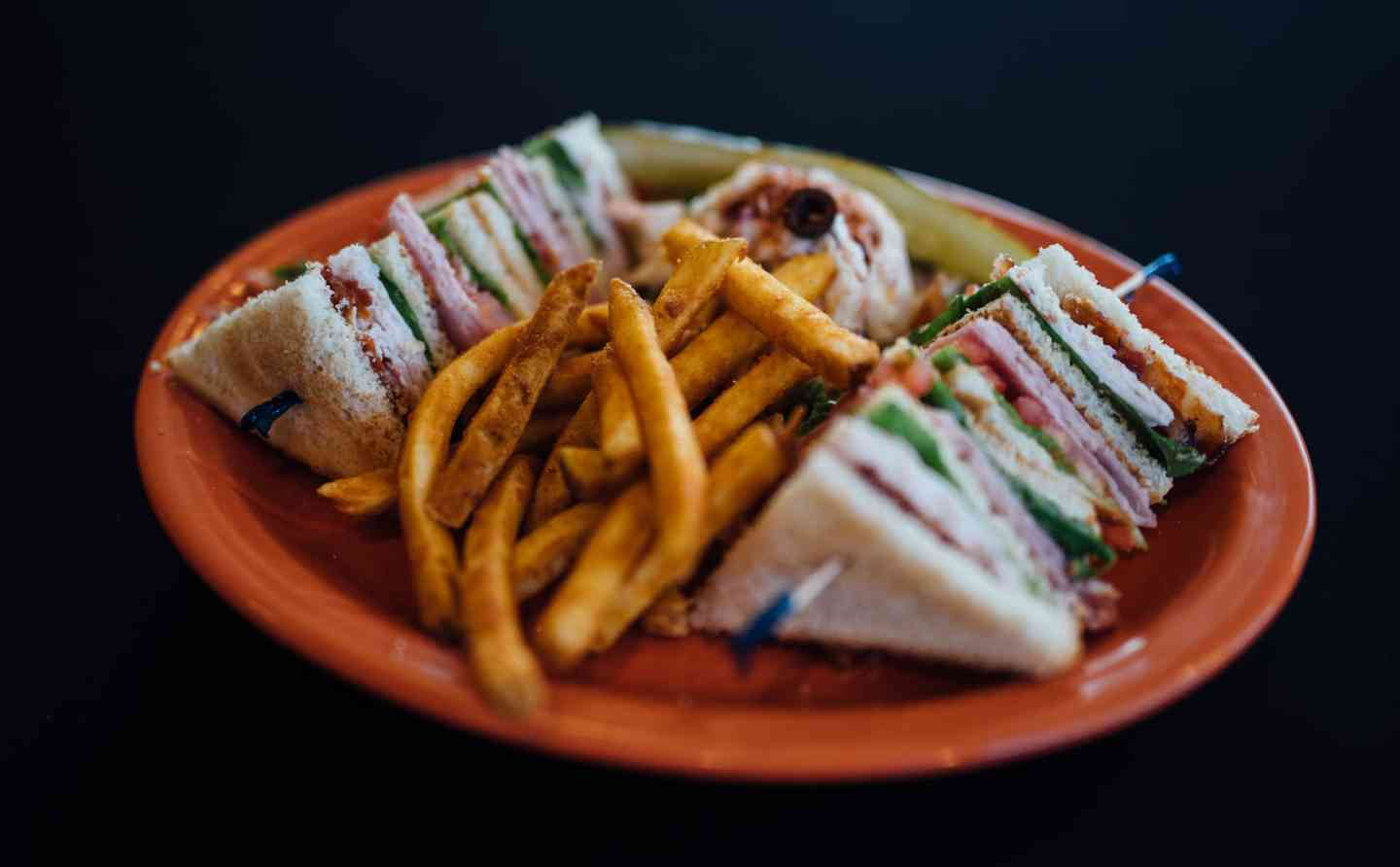 Club Sandwich– A Deluxe Double Decker!