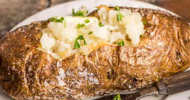 Gigantic Baked Potato