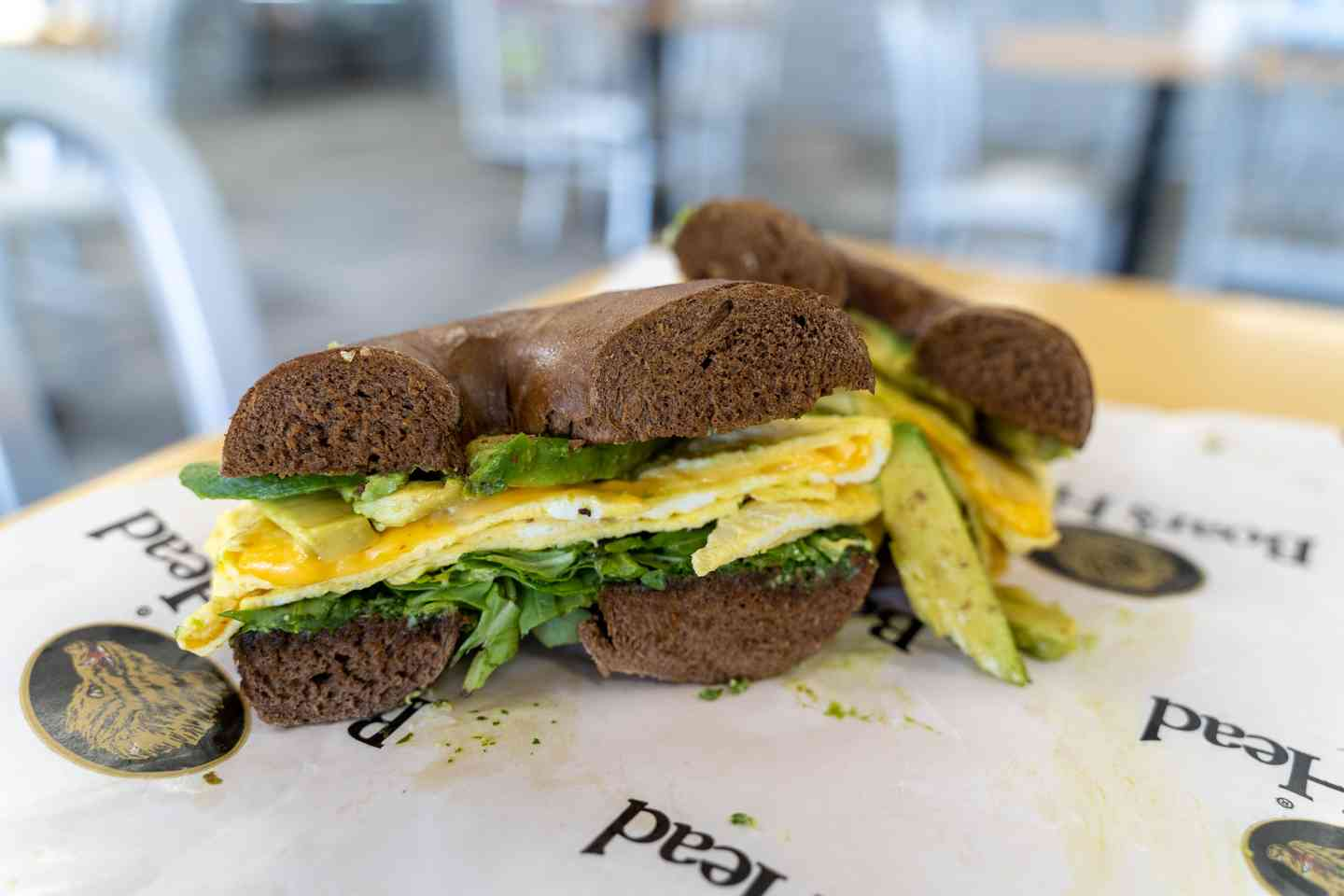 Egg & Cheese with Arugula & Avocado