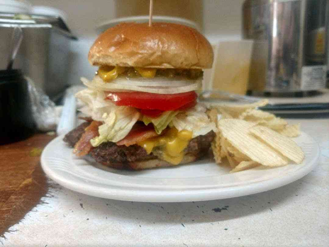 Bacon Double Cheeseburger