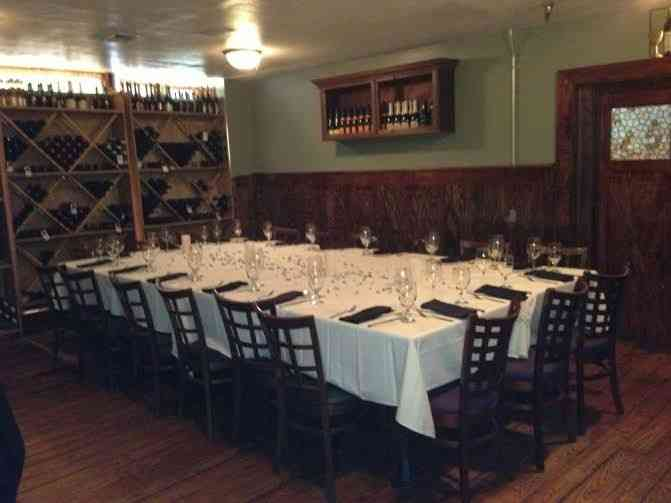cellar room one table