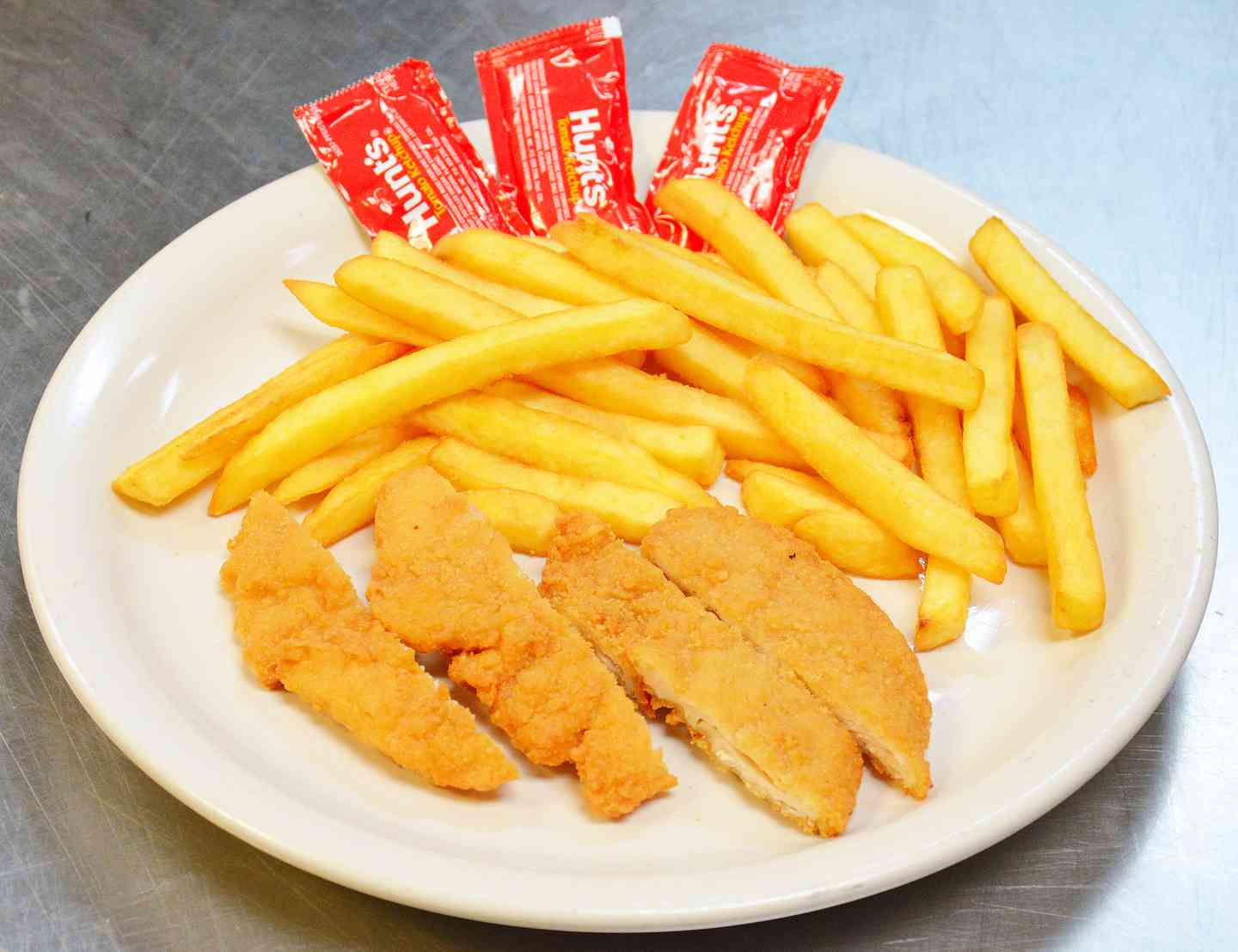 2. Chicken Fingers and Fries