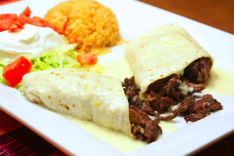 *Burrito al Carbon