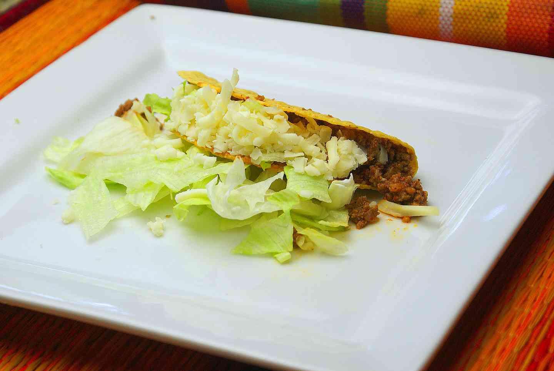 Hard Shell Beef Taco
