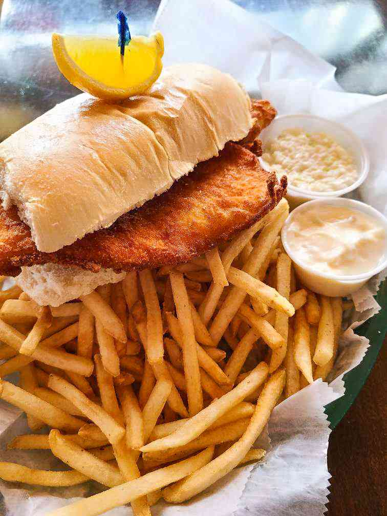 The Whaler Fish Sandwich