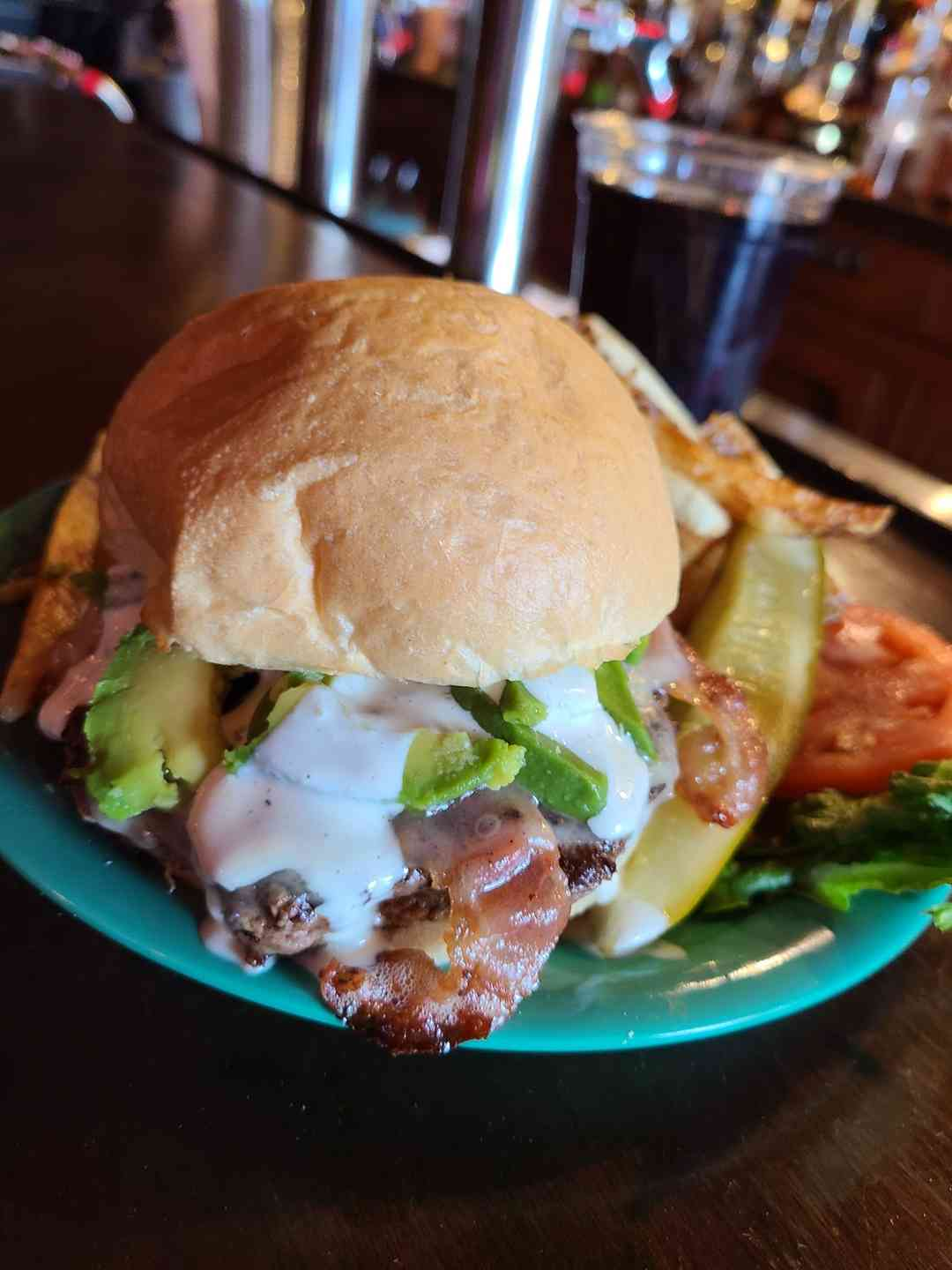 Avocado Bacon Ranch Burger