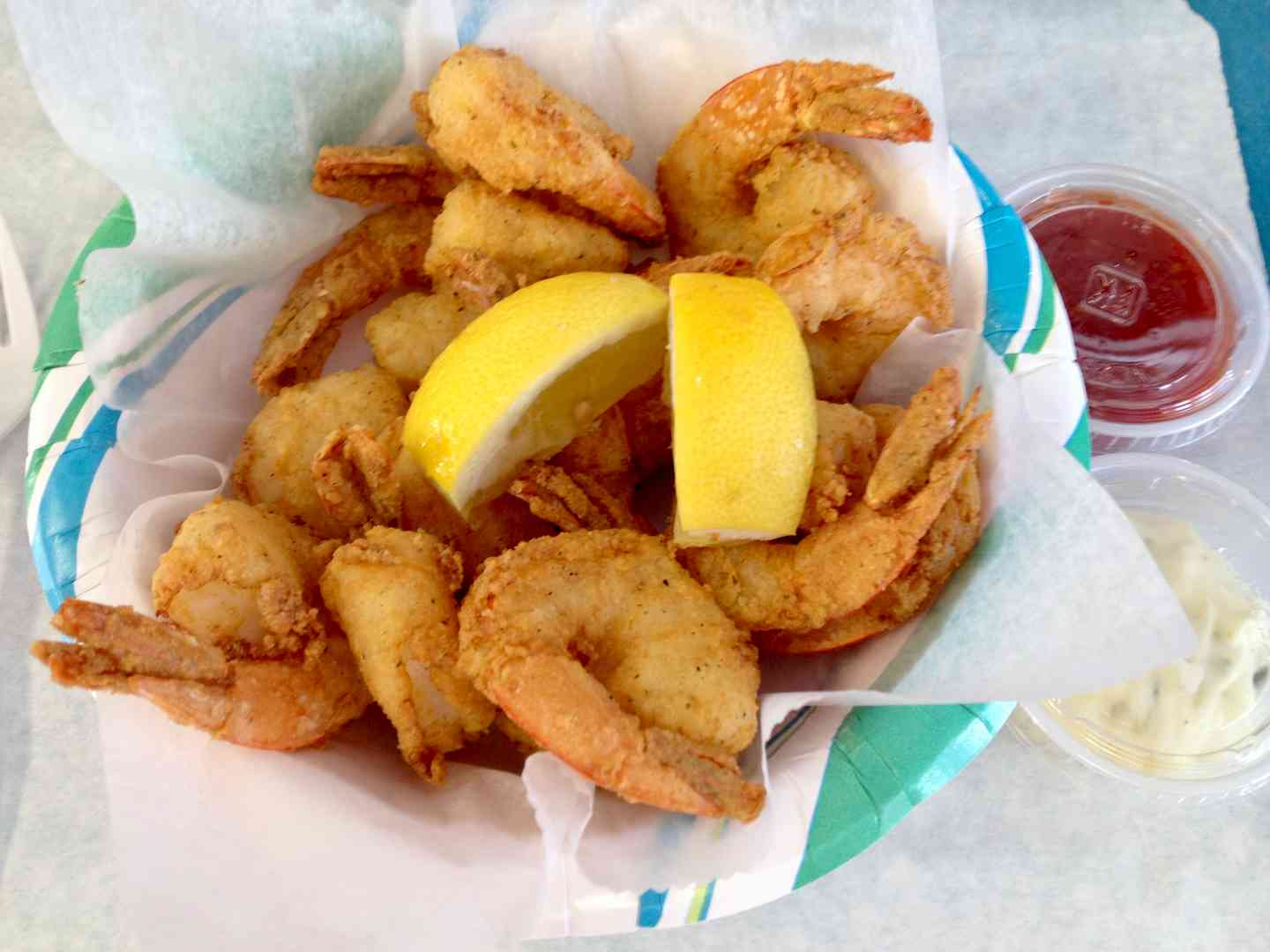 Golden Fried Shrimp