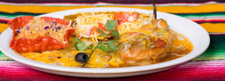 Combo # 4. Taco, Chile Relleno