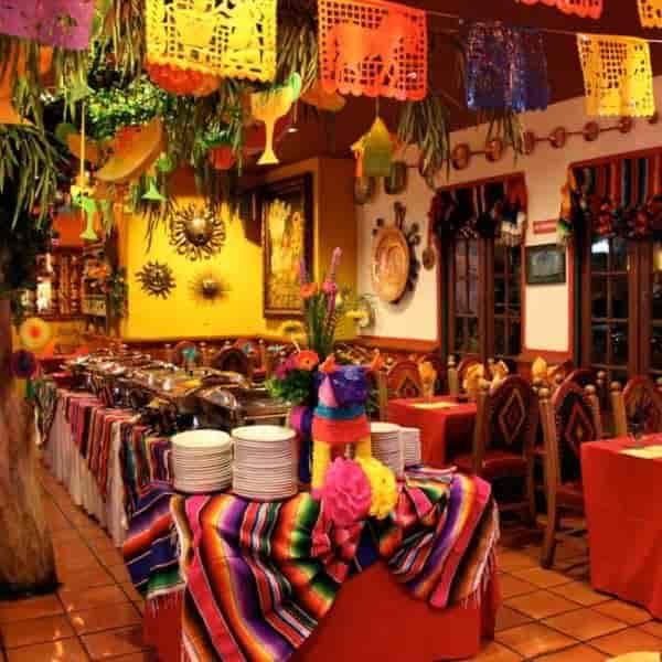 holiday inside restaurant