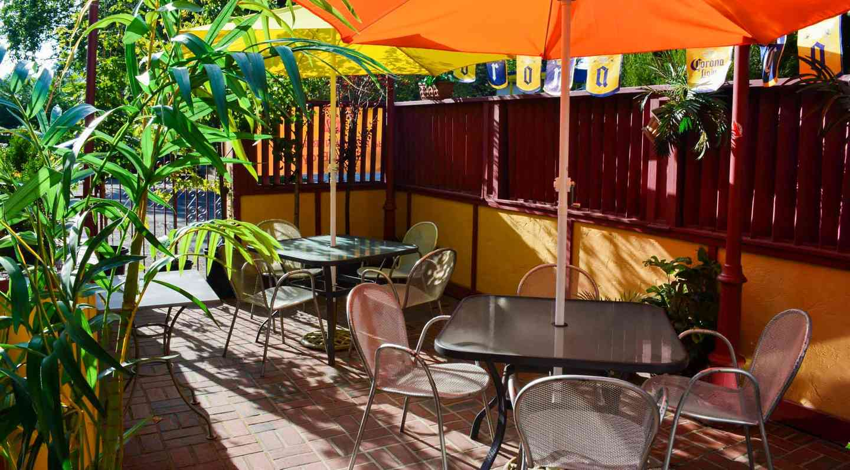 mexican restaurant patio