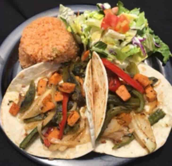 Veggie Rajas Plate/Taco
