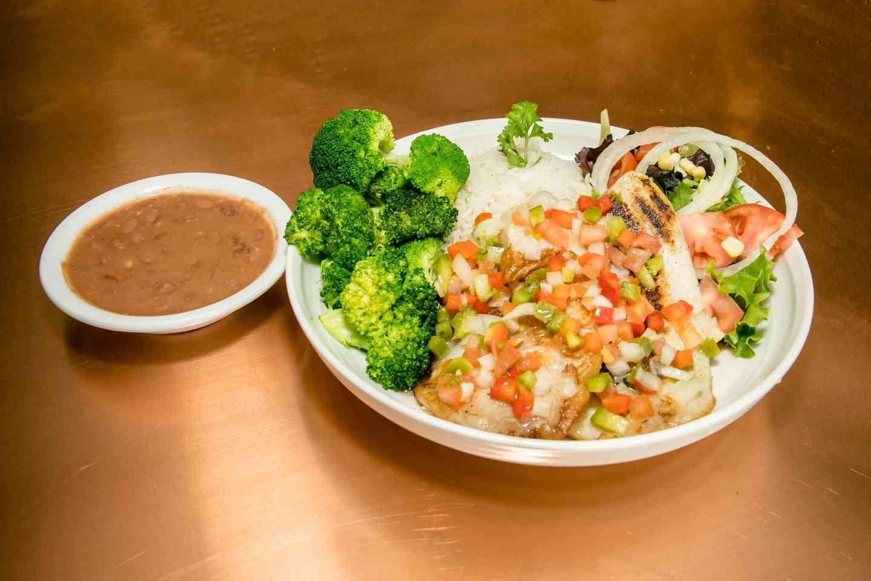 Tilapia Filet Fish Plate