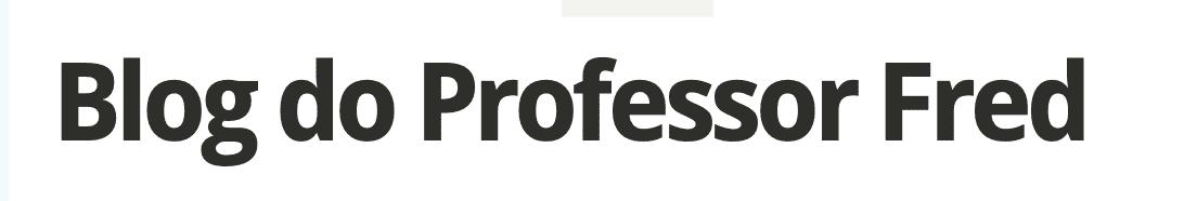 blog do professor fred logo