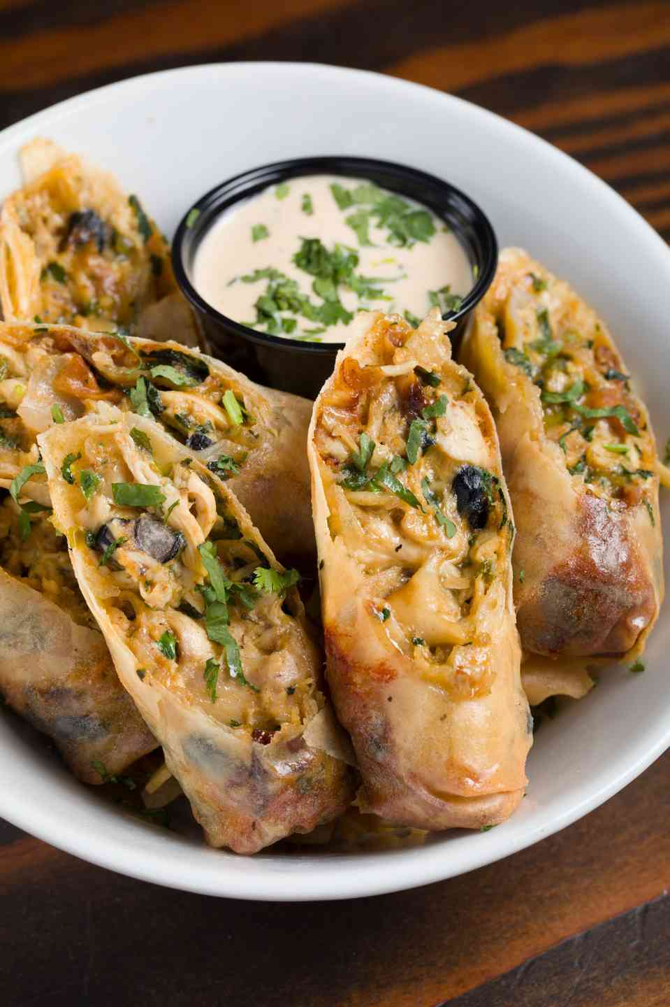 South x Southwest Egg Rolls