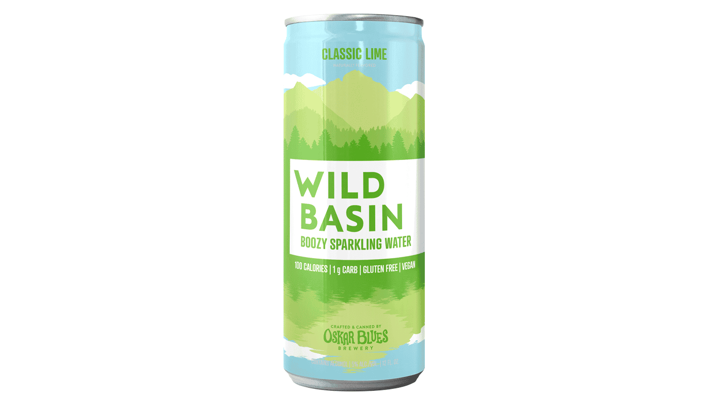 Wild Basin Classic Lime Seltzer
