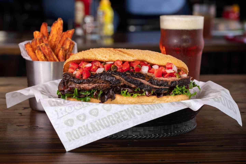 Steak Sandwich*