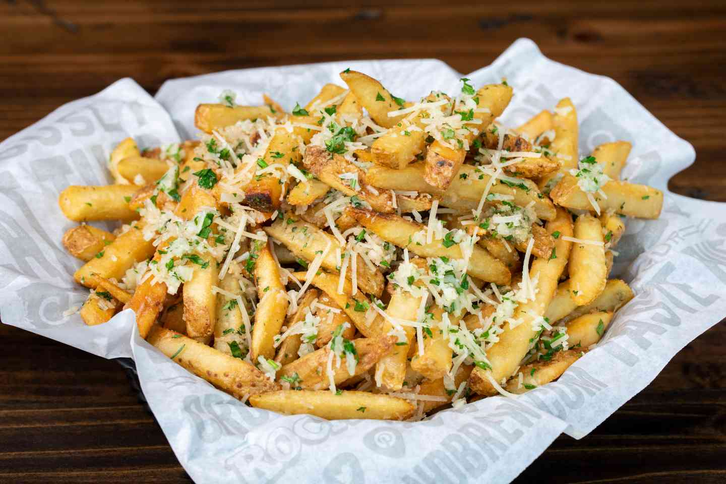 Garlic Parm Fries
