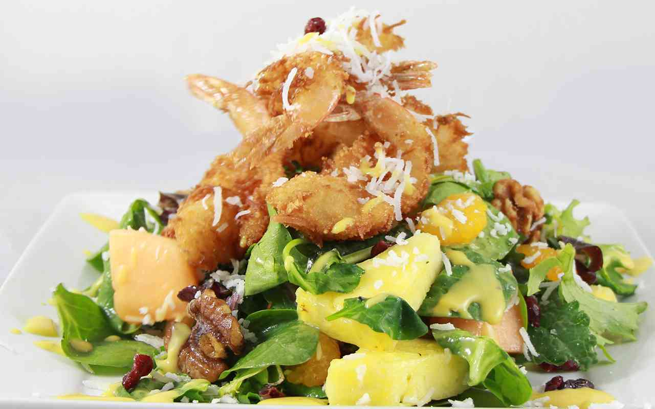 JUMBO COCONUT SHRIMP SALAD