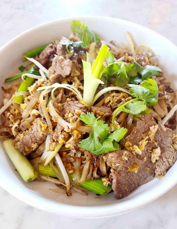 Cure Filet Mignon Noodles (Spicy Optional)