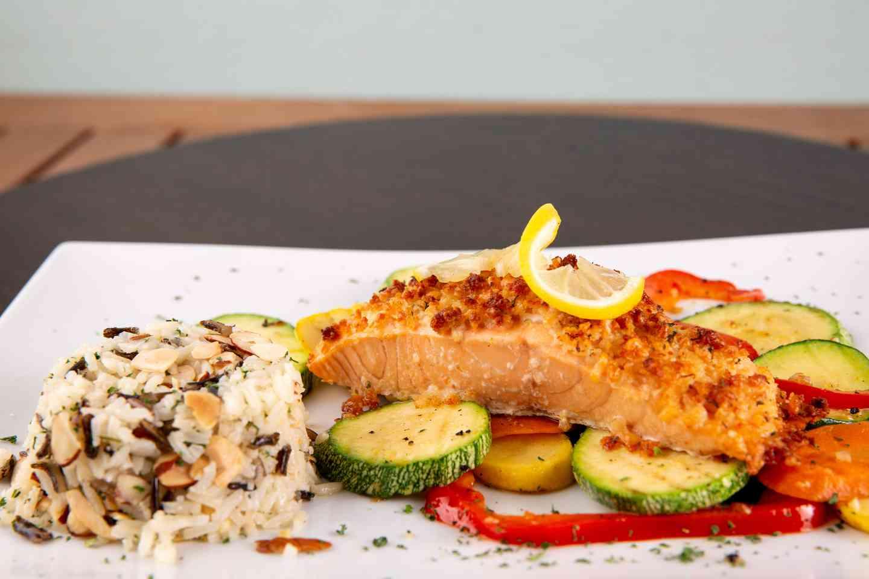 Parmesan Crusted Salmon