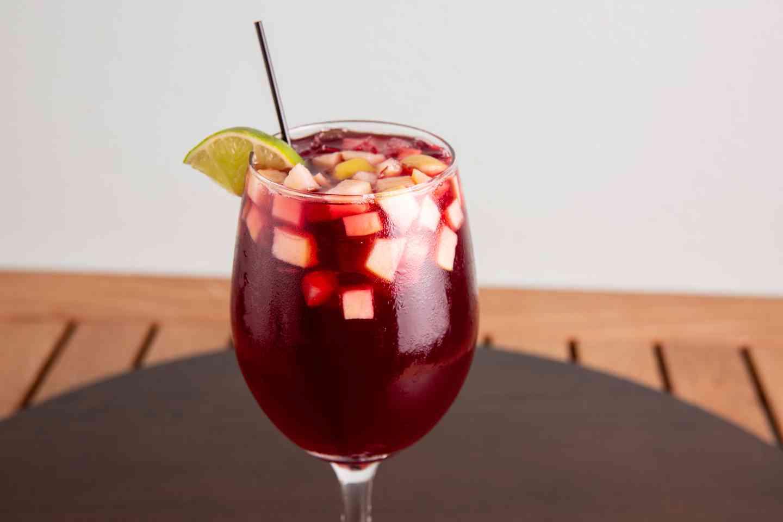 Sangria Glass