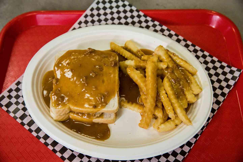 Hot Turkey & Gravy W/ Fries