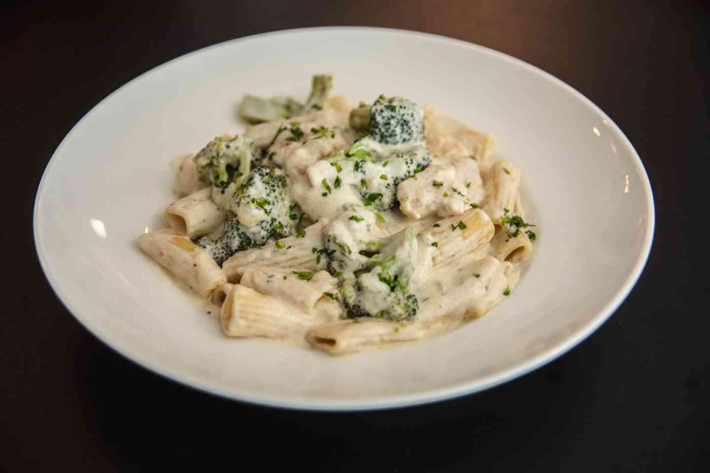 Rigatoni | Broccoli | Chicken or Shrimp Alfredo