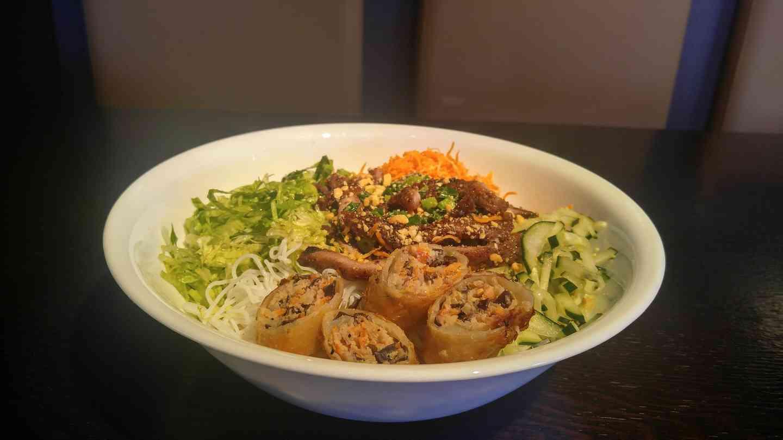 🌿 Vegan Vermicelli Bowl