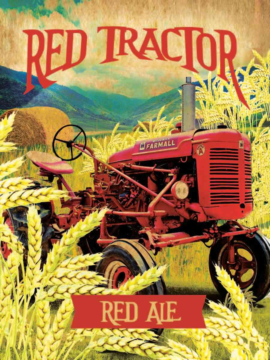 Heroes Red Tractor Red Ale (6.8% ABV; 35 IBU)