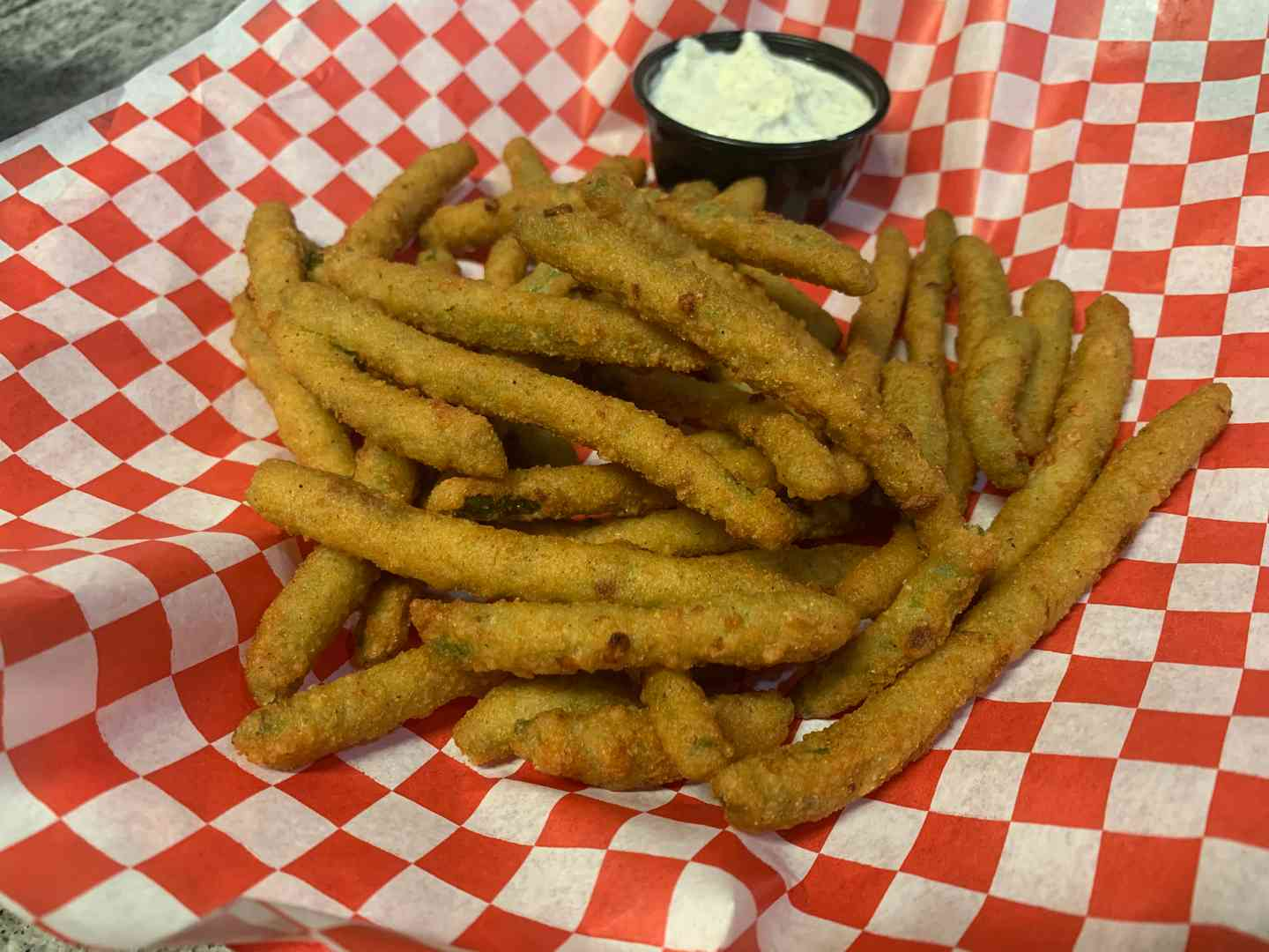 FRENCH FRIED GREEN BEANS