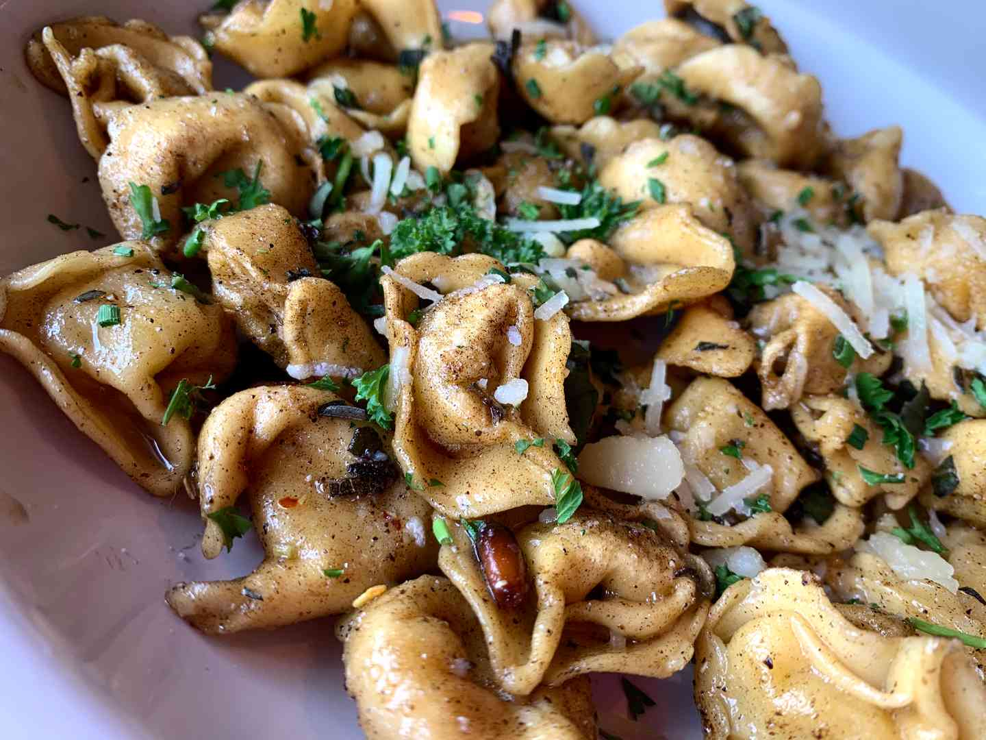 Brown Butter Cheese Tortellini