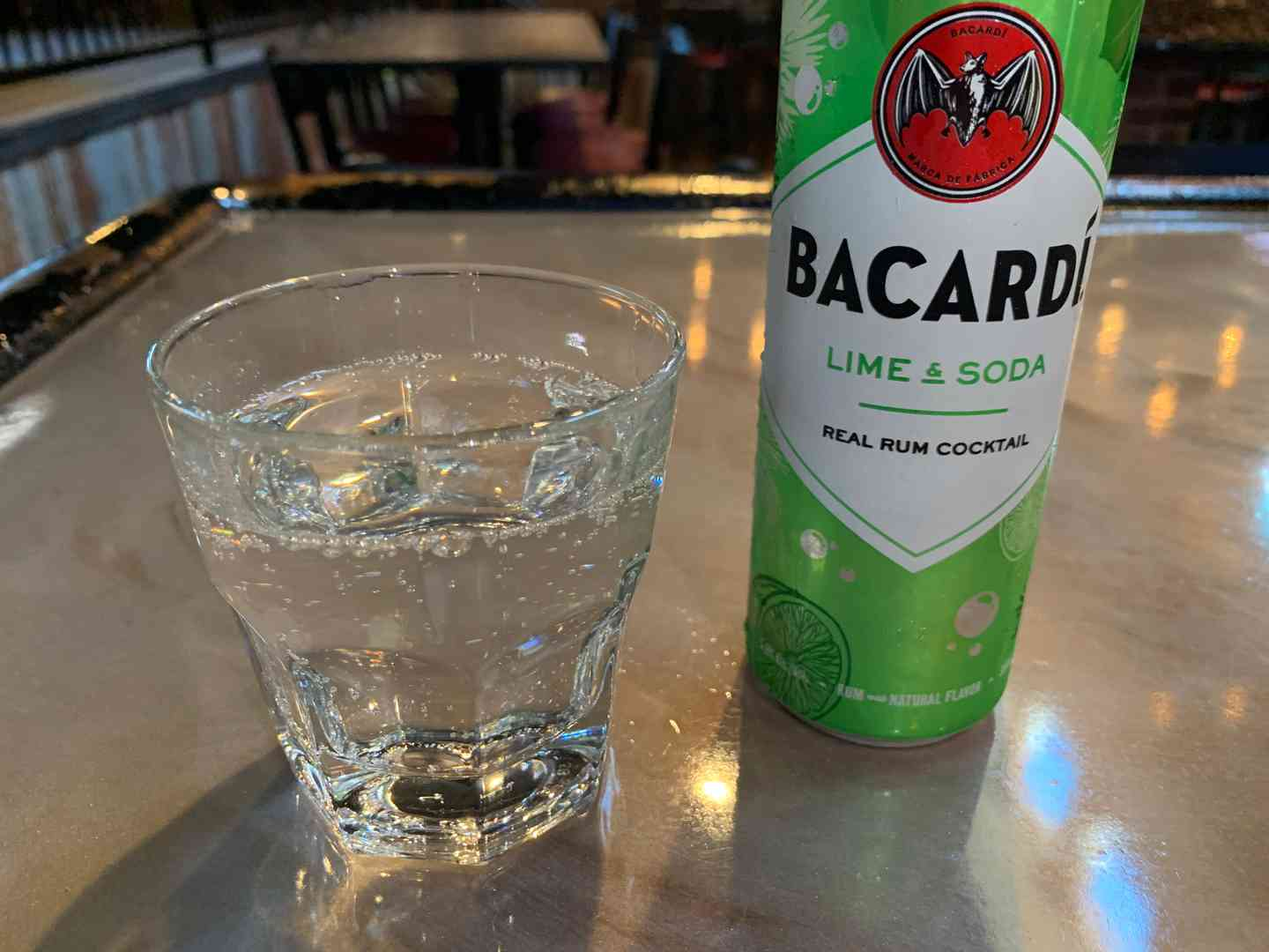 Bacardi Lime & Soda