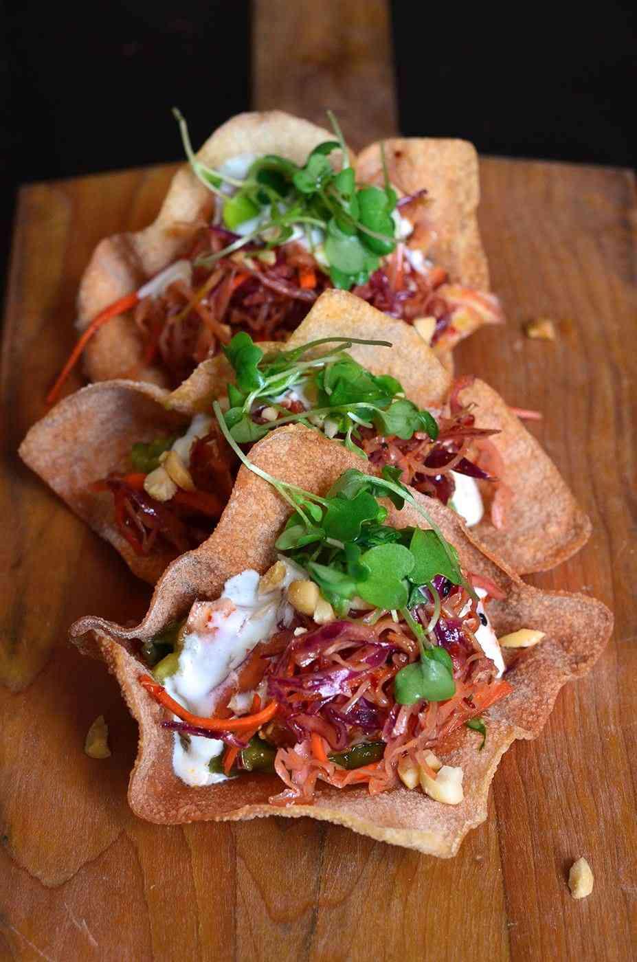 Tuna Tacos*