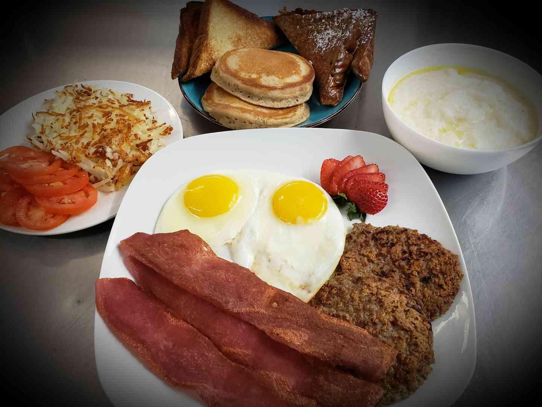 Breakfast Platter Choices