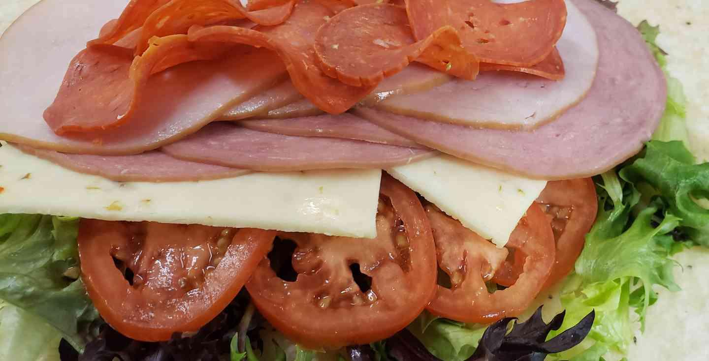 Italian Cold Cut Wrap