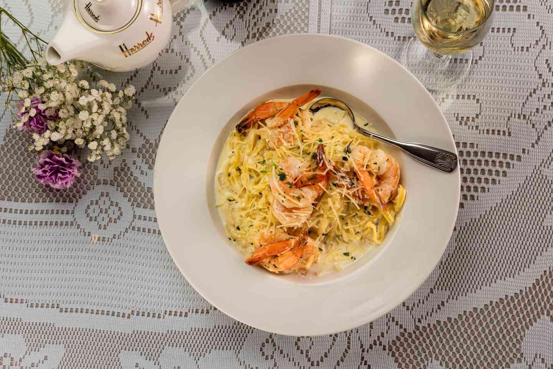 Shrimp & Linguine