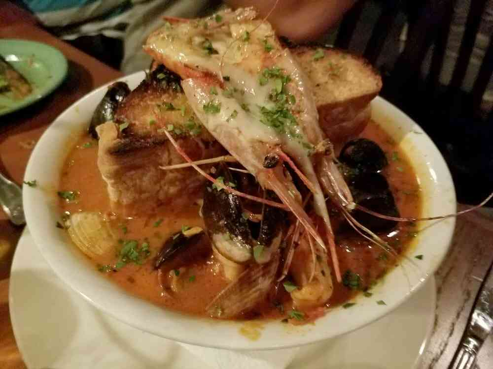 Famous Cioppino Soup