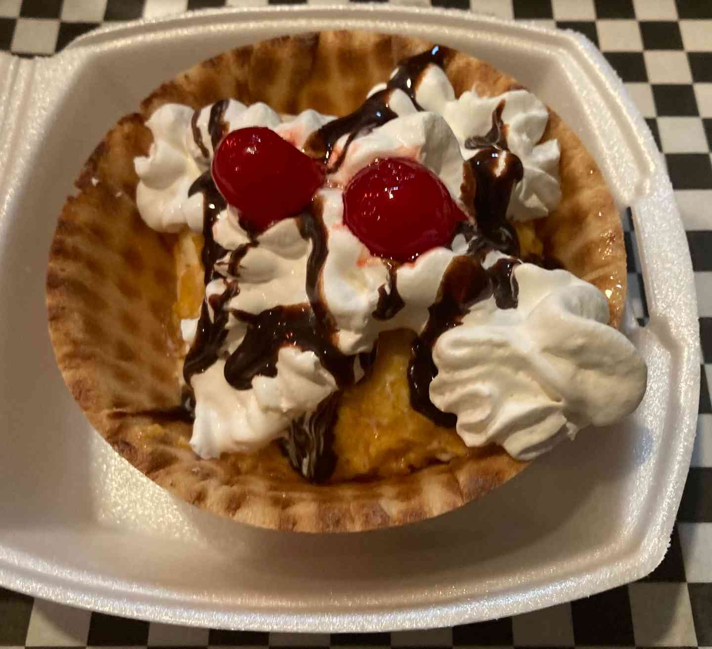 Deep Fried Ice Cream SPECIAL!