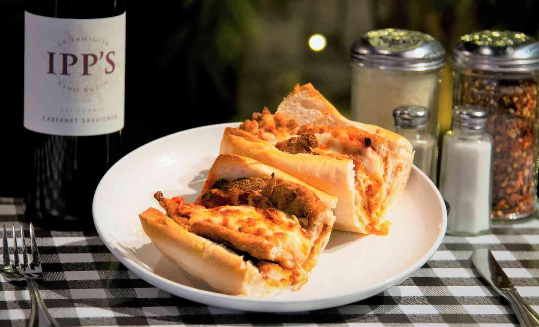 Chicken Parmigiana Sandwich