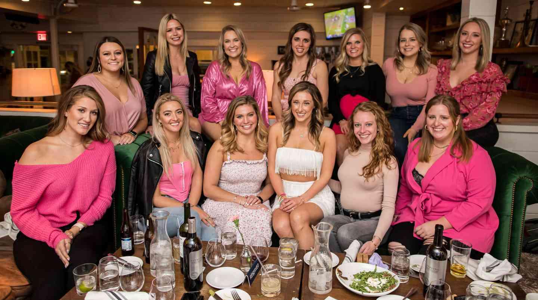 bachelorette dinner party